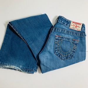 True Religion Bobby Low Rise Jeans 26 Bootcut